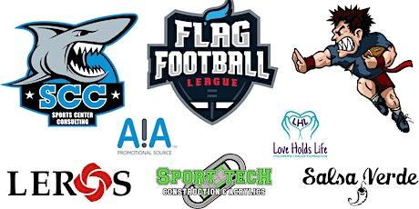 1st & 2nd Grade Flag Football League 2020 - LAST CALL tickets