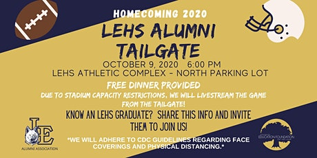 LEHS 2020 Homecoming Alumni Tailgate tickets
