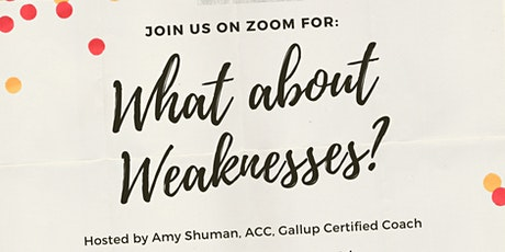 What About Weaknesses Workshop tickets
