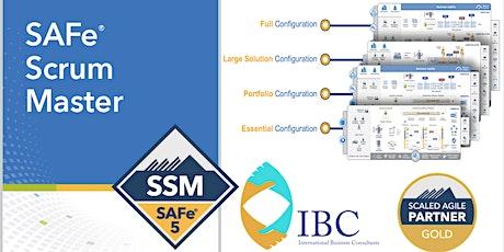 SAFe® Scrum Master 5.0 - Remote class tickets