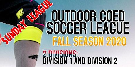 Sunday CoEd Soccer League tickets