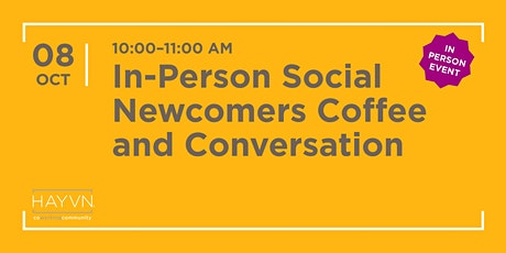 Newcomers Coffee and Conversation tickets