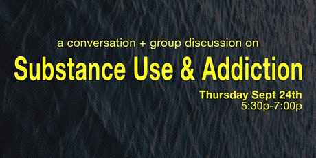Community2gether - Substance Use & Addiction tickets
