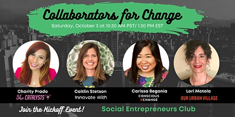 Collaborators for Change: Meet the New Community! tickets