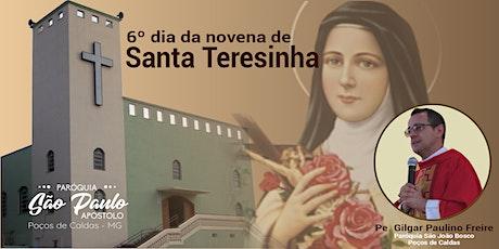 6º dia da Novena de Santa Teresinha ingressos