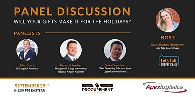 Panel Discussion – Will Your Gifts Make It For The Holidays?