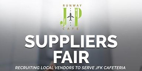 Suppliers Fair- Recruiting Local Vendors to serve JFK Cafeteria tickets