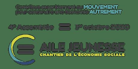 4e Assemblée générale de l'Aile jeunesse du Chantier de l'économie sociale billets