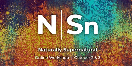 3DM Naturally Supernatural Workshop  #1 tickets