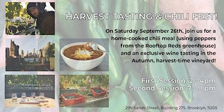 Harvest Tasting & Chili Fest! tickets