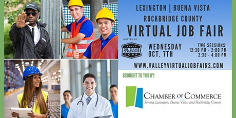 Lexington | Buena Vista | Rockbridge County Virtual Job Fair (JOB SEEKERS) tickets