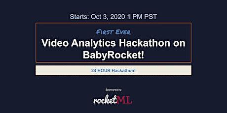 First Ever Video Analytics Hackathon on BabyRocket! tickets