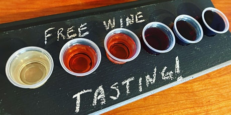 Free Wine Tasting Saturday tickets