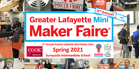 Greater Lafayette Mini Maker Faire 2021 tickets