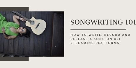 Songwriting 101: how to write, record and release a song tickets