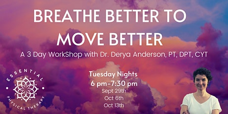 Breathe Better to Move Better tickets