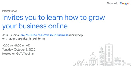 Grow with Google: Use YouTube to Grow Your Business tickets