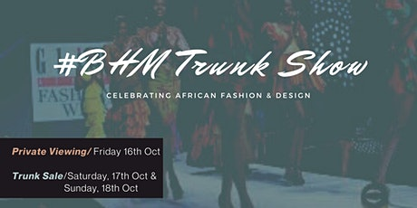 #BHM Trunk Show tickets
