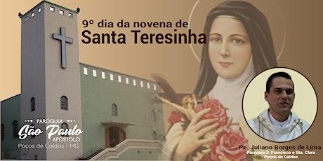 9º dia da Novena de Santa Teresinha ingressos