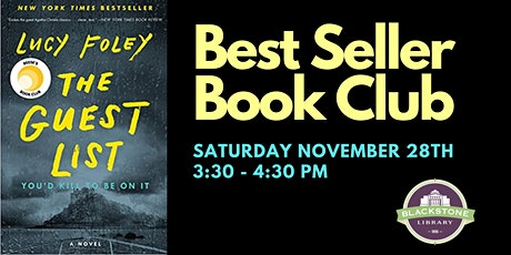 Best Seller Book Club - The Guest List tickets