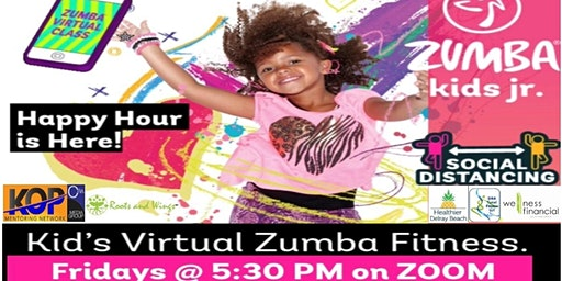 Kid's Virtual Zumba Fitness