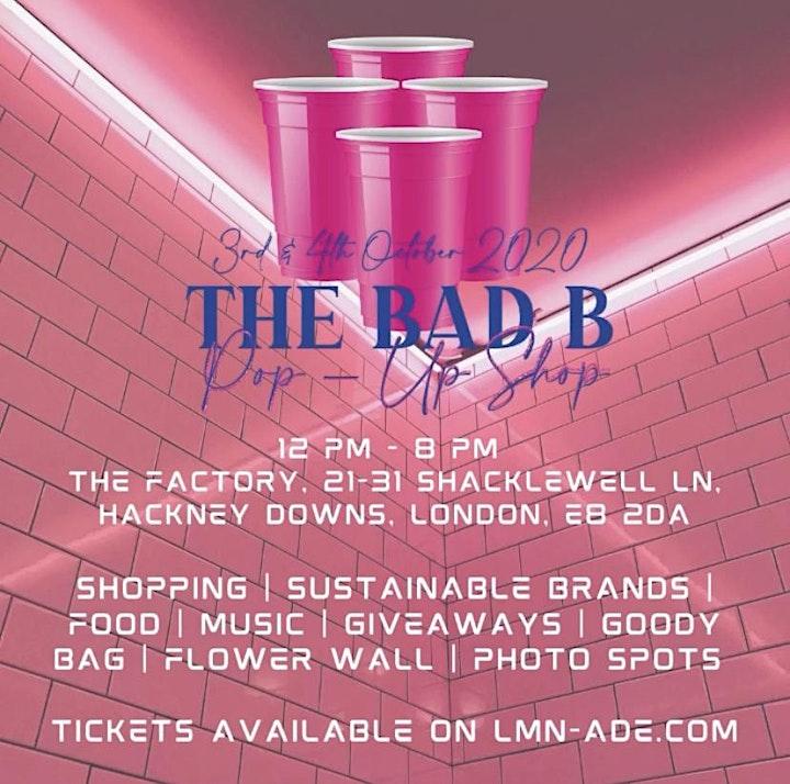 The Bad - B Pop Up Shop image