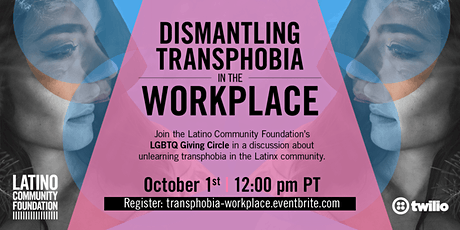 Dismantling Transphobia in the Workplace tickets