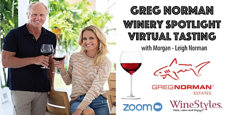 Virtual Wine Tasting with Greg Norman Wine Estate tickets