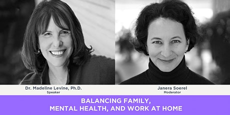 Balancing Family, Mental Health and Work at Home tickets