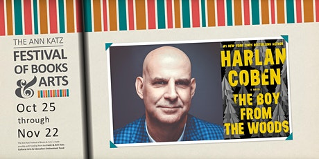 Virtual Ann Katz Festival: Harlan Coben tickets