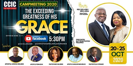 CCIC Campmeeting 2020 tickets