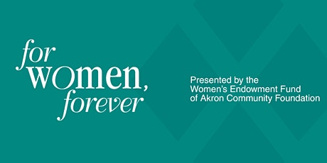 """For Women, Forever"" Annual Dinner tickets"