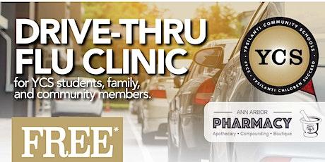 YCS Flu Clinic Hosted by the Ann Arbor Pharmacy tickets