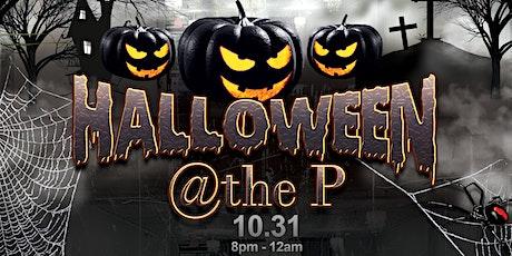 Halloween @the P tickets