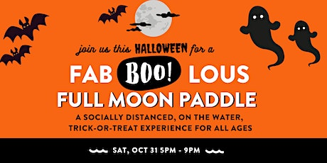 Fab-BOO-lous Full Moon Paddle tickets