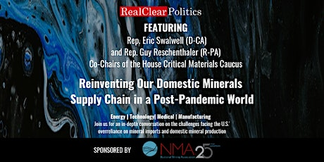 Reinventing Our Domestic Minerals Supply Chain in a Post-Pandemic World tickets