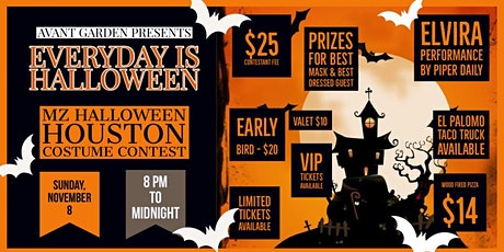EVERY DAY IS HALLOWEEN tickets