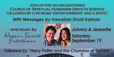 Church of Spiritual Humanism Service & Harry Potter & Chamber of Secrets tickets