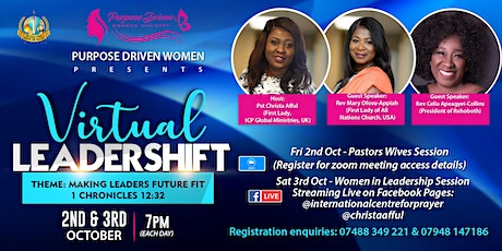 Virtual LeaderShift Womens Conference tickets
