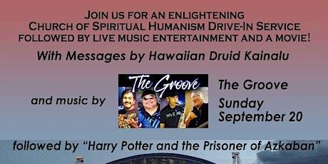Church of Spiritual Humanism Service & Harry Potter & Prisoner of Azkaban tickets