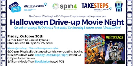 Halloween Drive-up Movie Night benefiting the Crohn's & Colitis Foundation tickets