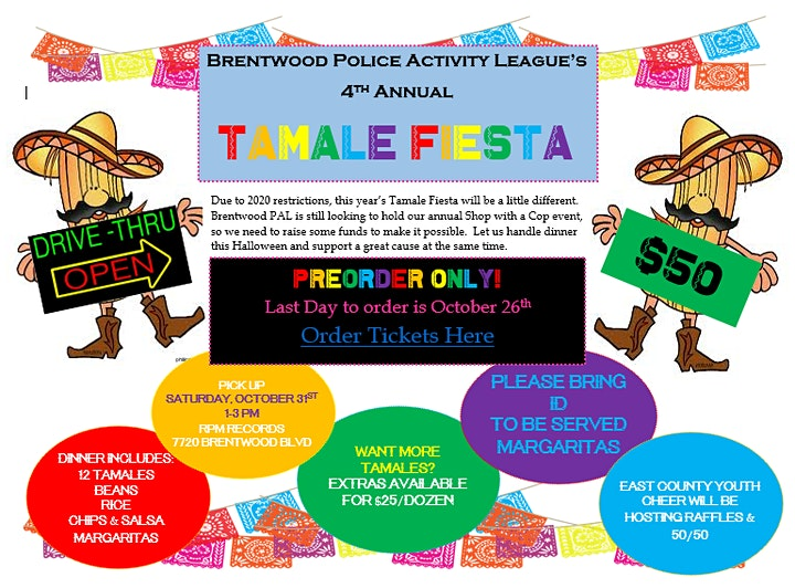 Was The Cop In Halloween 2020 In The Original 4th Annual Tamale Fiesta Tickets, Sat, Oct 31, 2020 at 1:00 PM