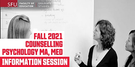 Counselling Psychology Master's Program Info Session (Online) tickets