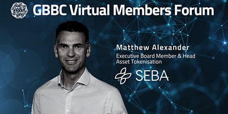 GBBC Virtual Forum with SEBA Bank tickets