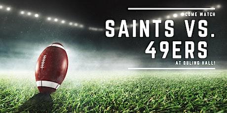 Saints vs. 49ers tickets