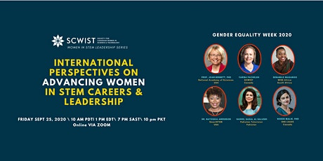 International Perspectives on Advancing Women in STEM Careers & Leadership tickets