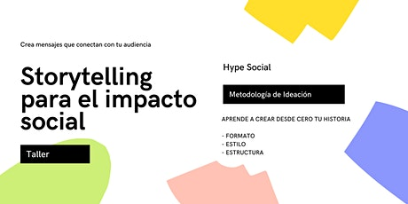 Storytelling para el impacto social entradas