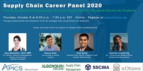 Supply Chain Career Panel 2020 tickets