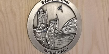 Virtual Running Event - Run 5K, 10K, 21K - Manchester Medal tickets