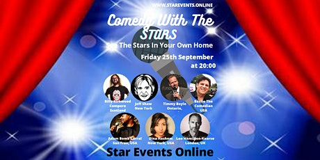 Comedy With The Stars tickets